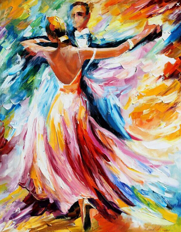 dancing picture beauty of the dance Painting By Numbers Paint On Canvas Acrylic Coloring Painitng By Numbers For Home Wall Decor