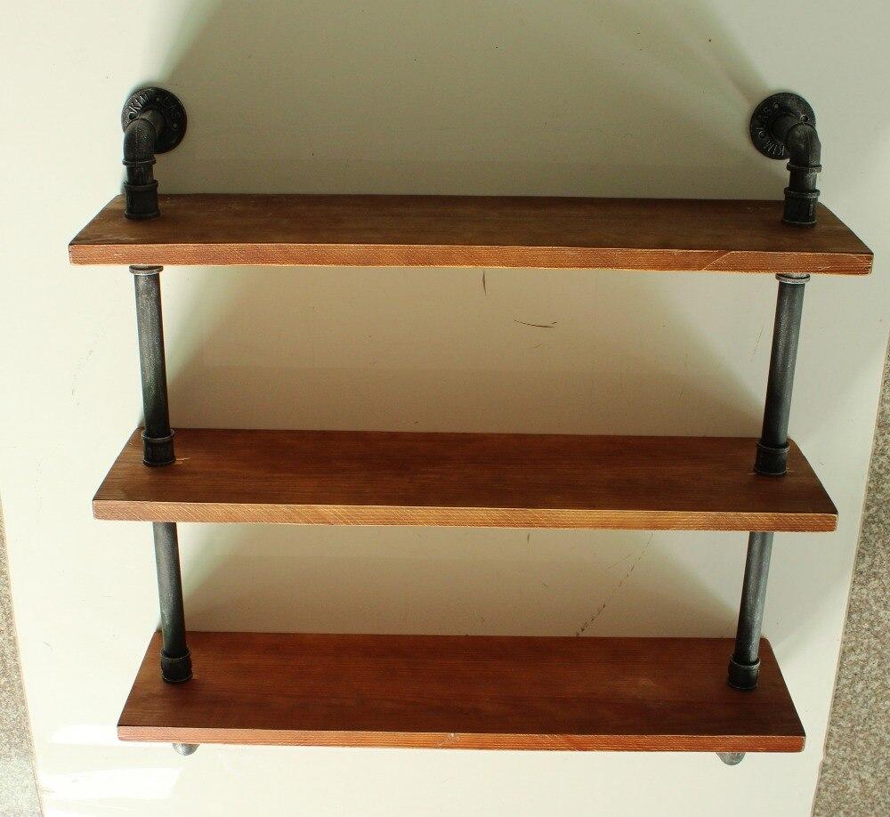 Aliexpress.com : Buy Industrial Style Shelf Pipe Shelving ...
