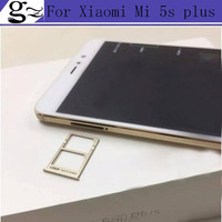 In Stock High Quality Sim Card Slot Tray Card Holder For Xiaomi Mi 5s Plus 5