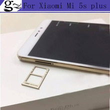 In Stock High Quality Sim Card Slot Tray Card Holder For Xiaomi Mi 5s plus 5.7 Inch Snapdragon 821 Mobile Phone