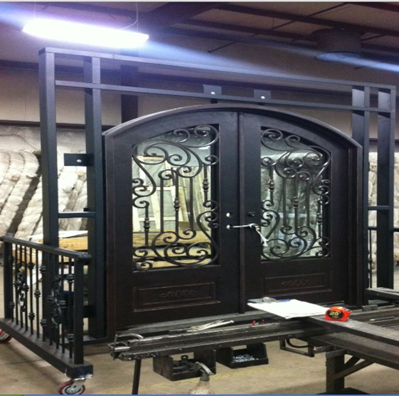 Door Retailer Picture More Detailed Picture About Finished Wrought Iron Exterior Doors With