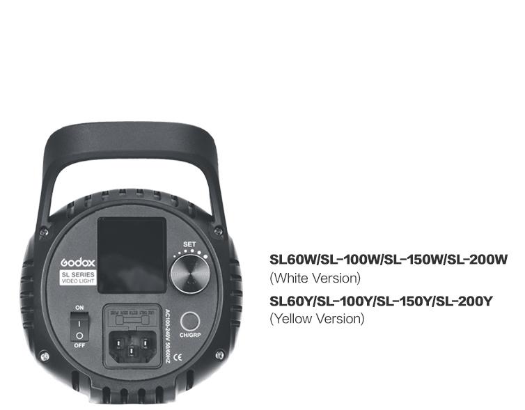 Godox SL-100 2400LUX Studio LED Continuous Video Light Bowens Mount (14)