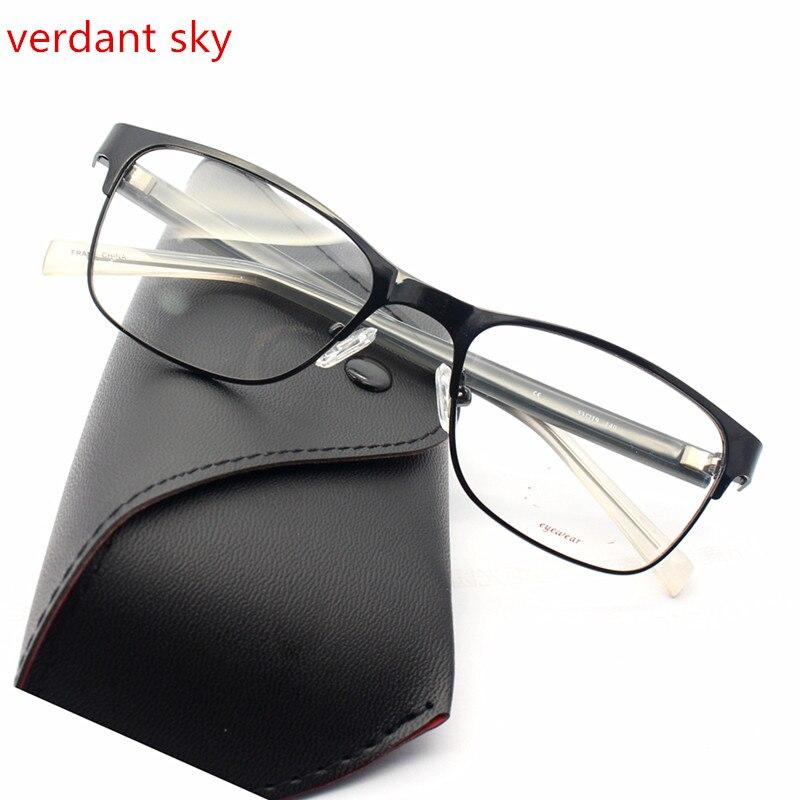 2017 The latest Italy design is black TR90 Men and women Glasses Frame Vintage Optical Brand Myopia Clear Eyeglasses Frame
