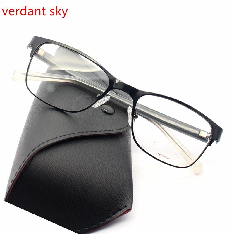 2017 The latest Italy design is black TR90 Men and women Glasses ...