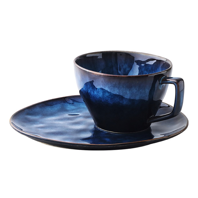 Blue Ceramic Tableware Set