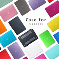 Premium New Matte Case For Apple MacBook Air 11 13 inch Laptop Sleeve for Mac book Pro 13 15 with Retina keyboard Cover