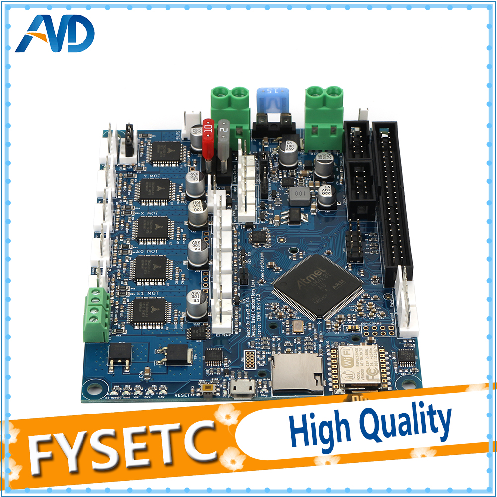 Image 5 - Cloned Duet 2 Wifi V1.04 Upgrades Controller Board DuetWifi Advanced 32bit Motherboard For BLV MGN Cube 3D Printer CNC Machine-in 3D Printer Parts & Accessories from Computer & Office