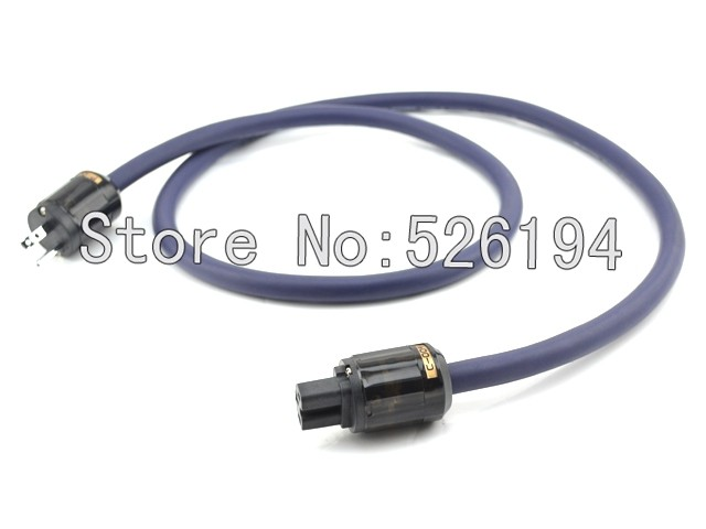 Free shipping 1.5M Furutech power cable audio power cable with oyaide Rhodium plated US Version P-004/C-004 Plugs connectors  free shipping viborg krell cryo 196 audio power cable us ac power cord with us version gold plated plugs