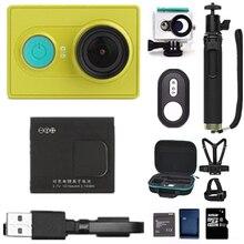 Binful для оригинала xiaomi yi действий камеры 1080 P 60fps 16mp wifi bluetooth 4.0 смарт спорт путешествия камера дополнительный аксессуар mi
