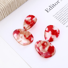 XIYANIKE Vintage Irregular Geometric Acetic Acid Drop Earrings for Women Gifts Fashion Accessories Brincos Party Jewelry E1642