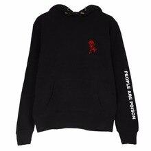 NEW Rose Full Sleeve Women Hoodie Sweatshirt