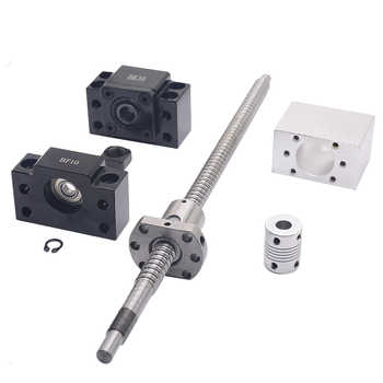 SFU1204 set:SFU1204 rolled ball screw C7 with end machined + 1204 ball nut + nut housing+BK/BF10 end support + coupler RM1204 - DISCOUNT ITEM  13 OFF Home Improvement