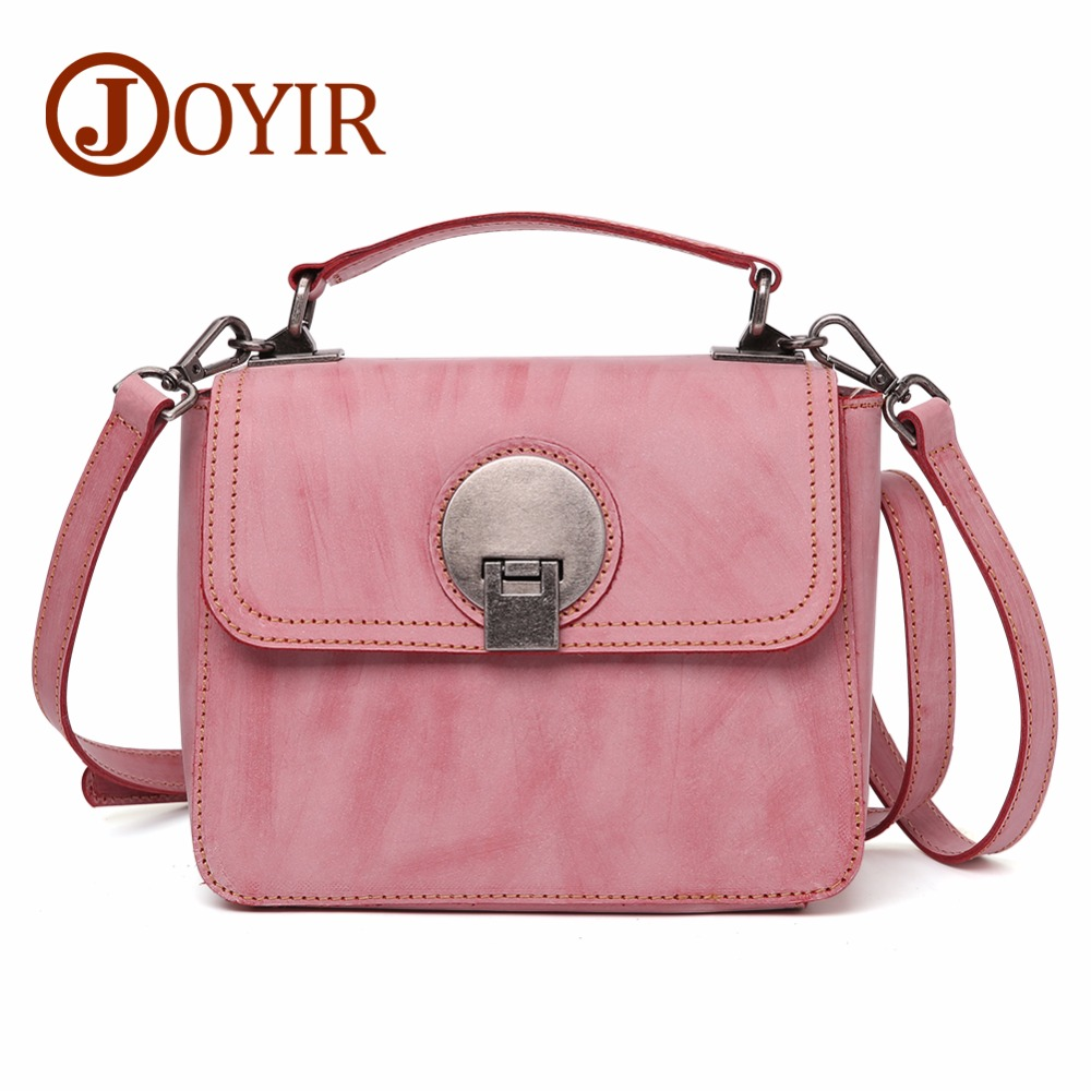 JOYIR Women Bag Genuine Leather Crossbody Bags For Women Fashion Shoulder Crossbody Bags Women Menssenger Bag