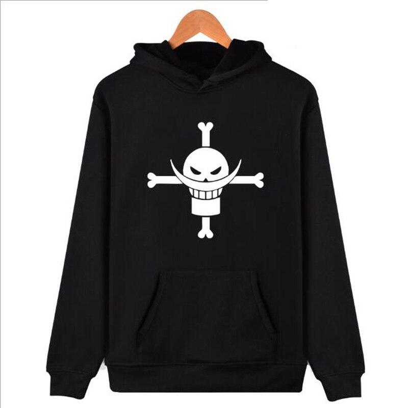 Anime One Piece Hoodie Men Hip Hop Streetwear Trafalgar Law Hooded Sweatshirt The Pirate King Luffy Funny Sweat Shirt Homme