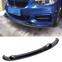 Carbon fiber Front Lip Spoiler Fit For BMW 2 Series F22 M Sport