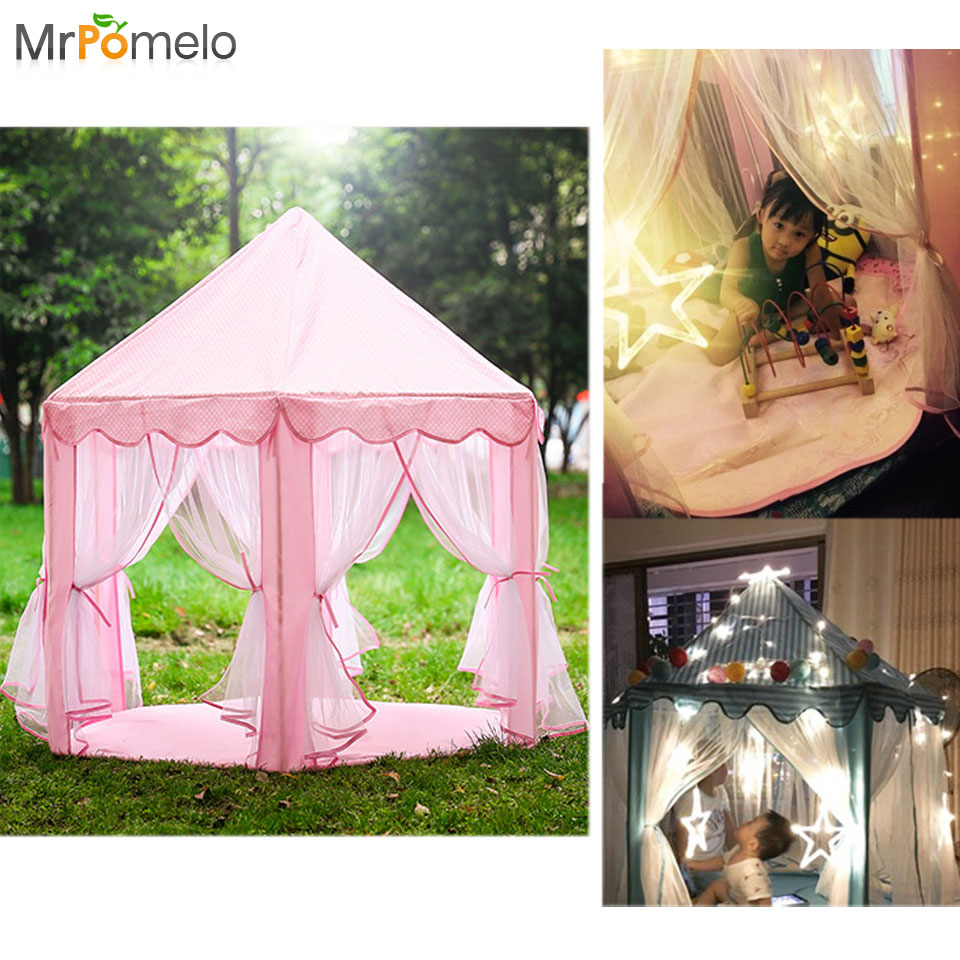 Mrpomelo Toy Tents For Kids Princess Castle Play Tent