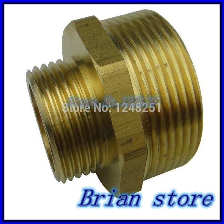 Quot x inch bsp male length mm connection hex brass