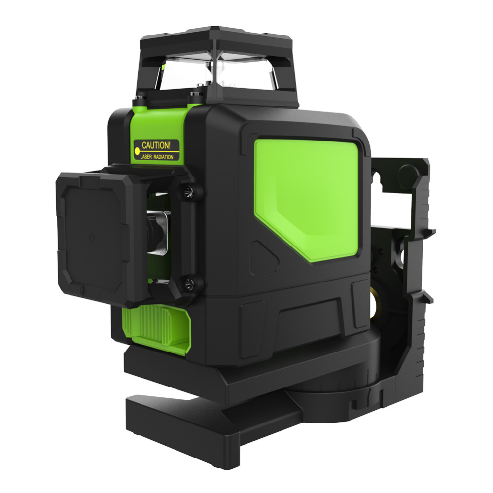 8 Line Green Laser Line Level 360 Degree Rotary Self leveling Cross Horizontal Vertical Measuring Tool For Construction Industry