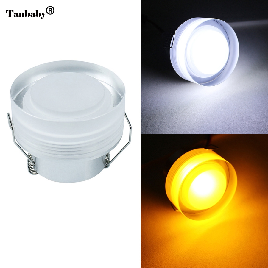 tanbaby 1pcs 3w acrylic led ceiling downlight ac85v 265v recessed led wall lamp spot light with. Black Bedroom Furniture Sets. Home Design Ideas
