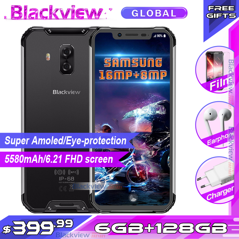 US $399 99 |Fast shipping Blackview BV9600 pro Rugged IP68 Waterproof Helio  P60 Global 4g mobile phone 6 21