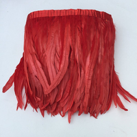10 meters cock tail feather cloth belt skirt selvage clothing DIY 10 12inch wedding dress accessories hair accessories