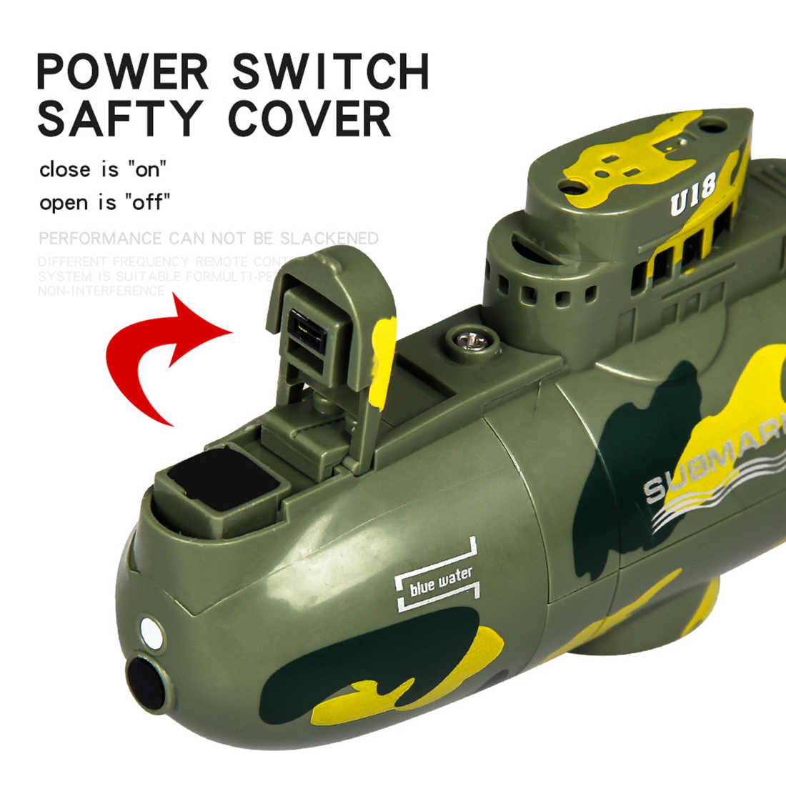 Mini pilot zdalnego sterowania łodzi podwodnej Mini RC łódka zabawki wyścig model łodzi statek 6 CH łódź elektryczna zabawki RC Mini łódź podwodna