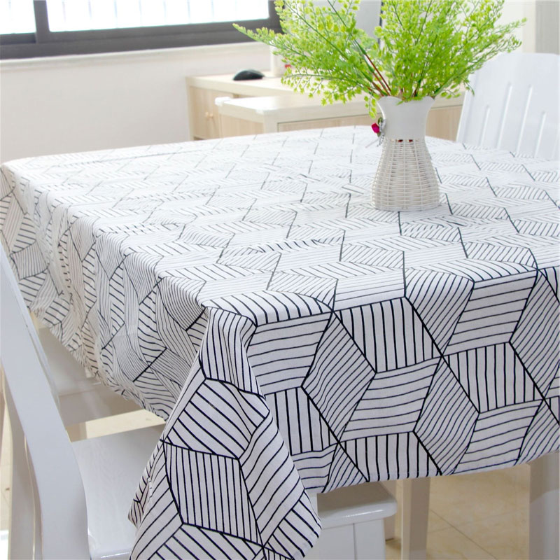 Hule en la cocina mantelería mantel rectangular mesa de comedor ...