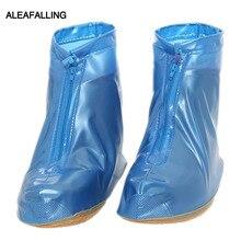 Aleafalling, модный утепленный комплект водонепроницаемый чехол для обуви складной Портативный молния Повседневное студ противоскользящие Сапоги На дождливую погоду SC003
