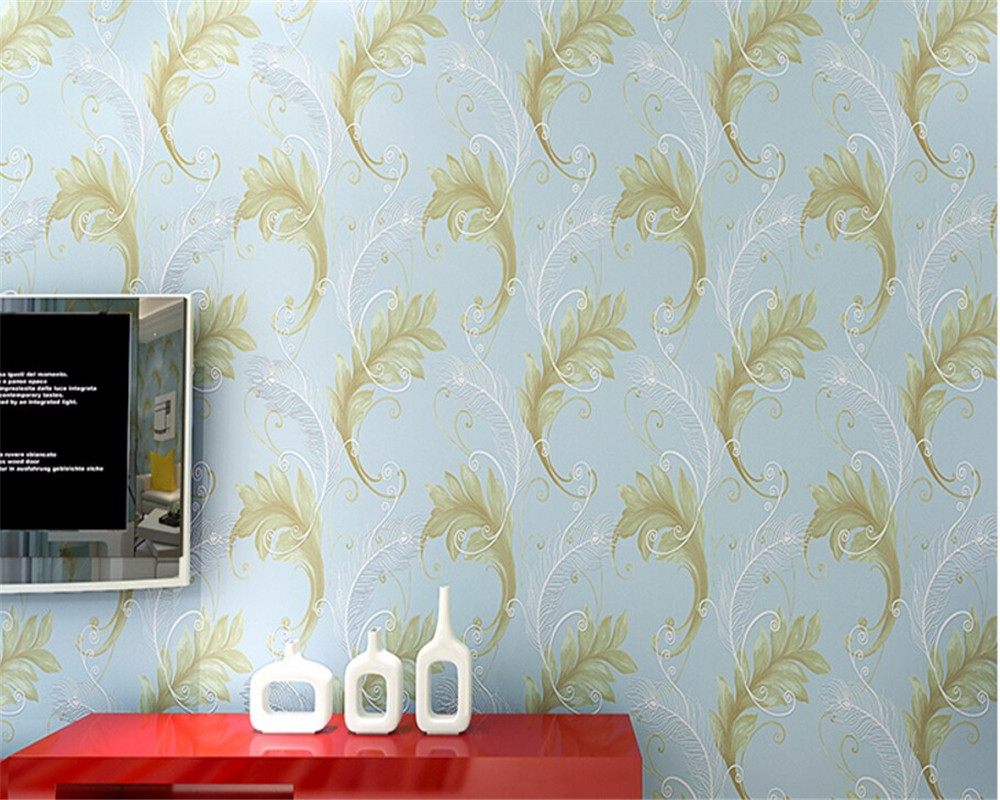 Beibehang Peacock feathers large living room background 3D wall paper stereo bedroom wallpaper for walls 3 d papel mural 3d stereo window planet earth from outer space background 3d wallpaper murals living room bedroom study paper 3d wallpaper