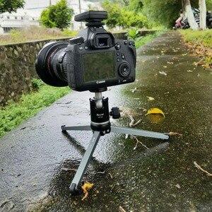 Image 4 - Ulanzi XILETU MT26 + XT15 מיני מתכת חצובה עם נתיק כדור ראש 360 תואר סיבוב, אלומיניום סגסוגת חצובה עבור GoPro DSLR