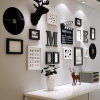 Европейская настенная подвеска с героем аниме гостиная настенное крепление креативное живопись Виниловая пластинка украшения голова олен