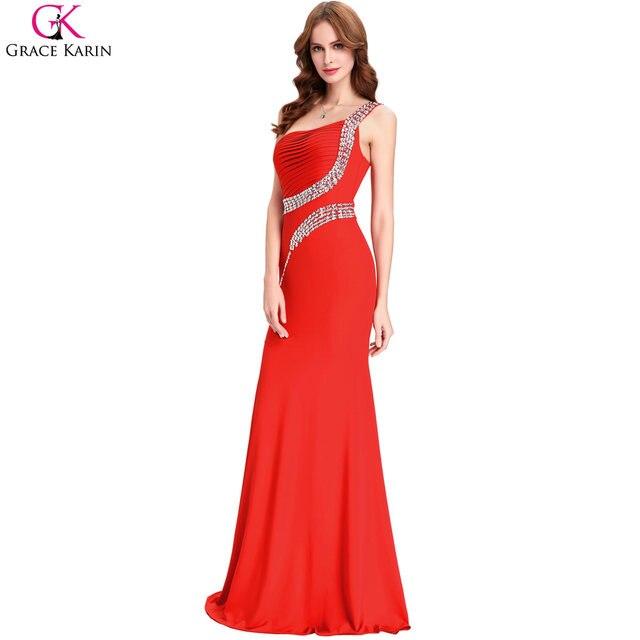 Online Shop Grace Karin Black Royal Blue Purple Green Red Mermaid ...