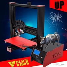 Aluminum Impressora 3D TEVO Black Widow 3d printer kits reprap prusa I3 Free MKS Mosfet Imprimante 3d SD Card Gift Cheap Printer