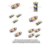 Free Shipping 4pc LED Lights Car Styling Hi Q Interior Package Kit For 2016 SUBARU CROSSTREK