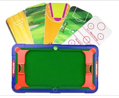 Free Shipping Multifunction Game Table Soccer Billiards Golf Basketball Ice  Hockey Bowling Toy Puzzle Children Playing