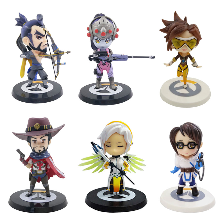19cm Game HearthStone LED Light PVC Action Figure Collectible Model Decoration