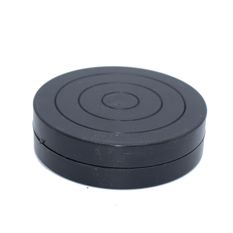 11cm Black Pottery Wheel Round Plastic Rotary Turnplate clay modelling Sculpture Making  ...