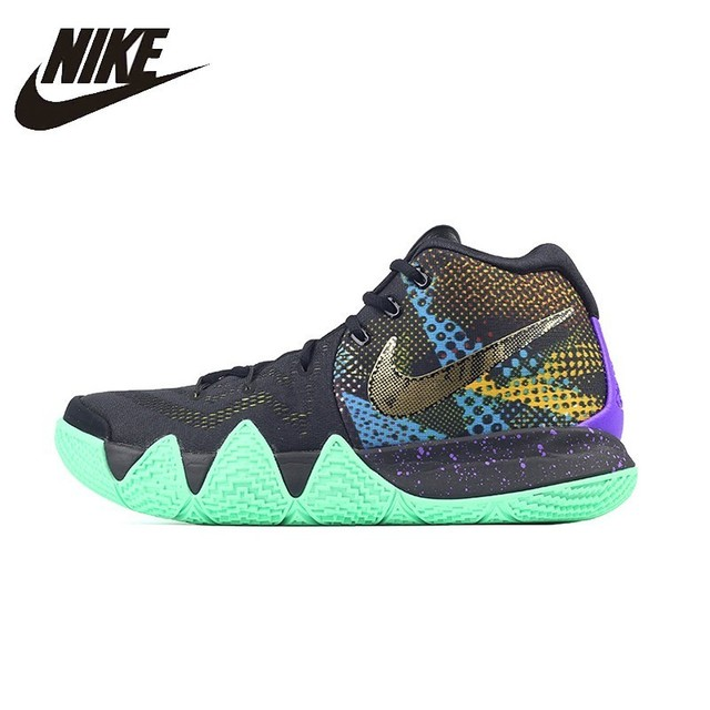 859ffe7662dfe NIKE KYRIE 4 MAMBA Original Mens Basketball Shoes Breathable Height  Increasing Stability Support Sports Sneakers For Men Shoes