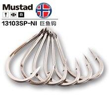 5 kusů / kus Mustad 13103 Velký ostnatý hák Diamond Hook Tip Velké ryby Mořské rybaření Háčky z oceli