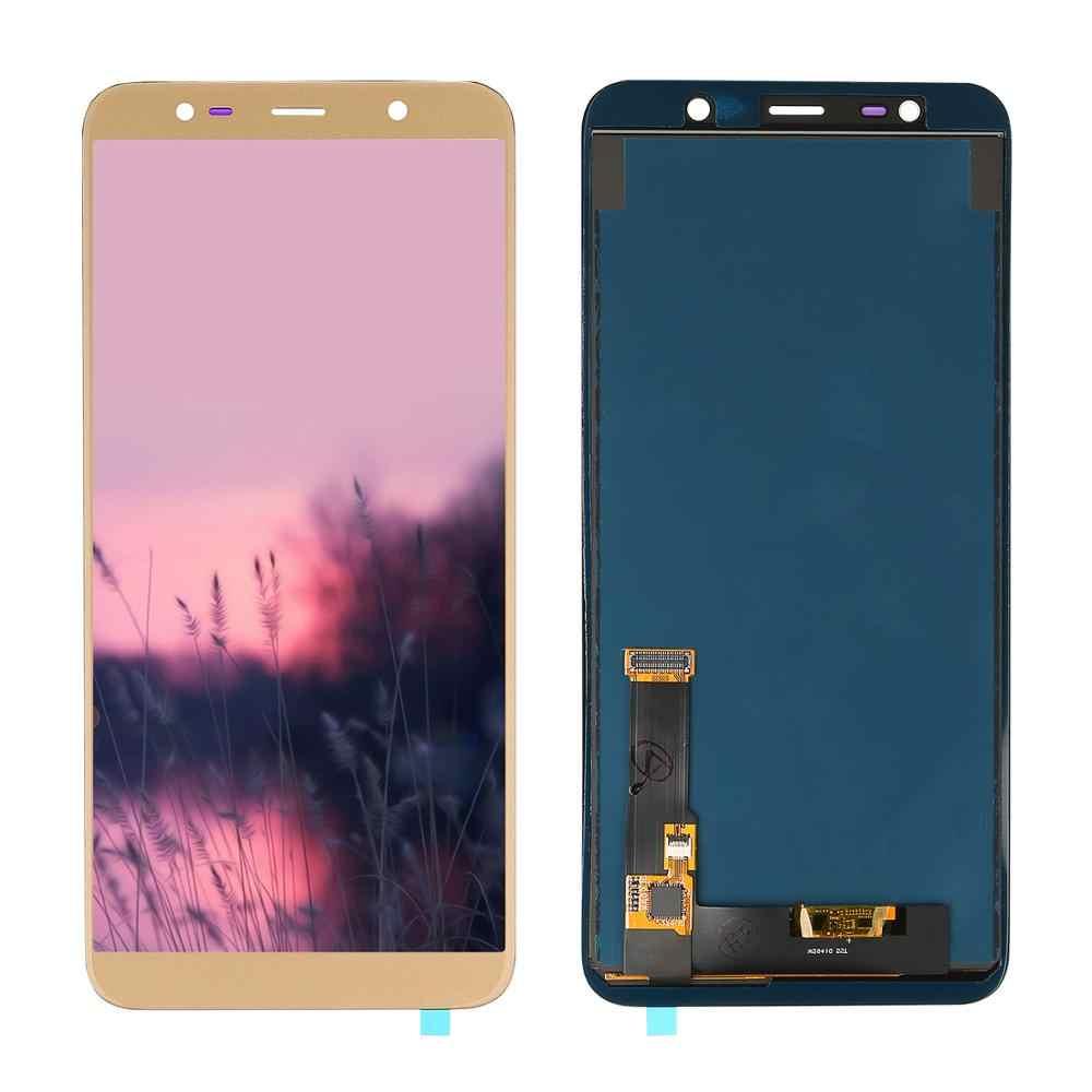 Nuevo probada TFT LCD para Samsung Galaxy J8 2018 SM-J800 J800FN pantalla LCD y digitalizador de pantalla táctil de la Asamblea de piezas de repuesto
