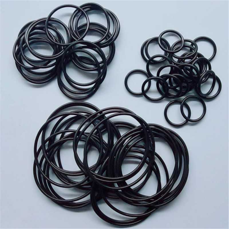 65 pcs NBR CS 2 OD31/32/33/34/35/36/37/38/39/40/41/42/43/44/45/46/47/48/49/50/51 mm Nitrile Rubber O type Sealing Ring Gaskets