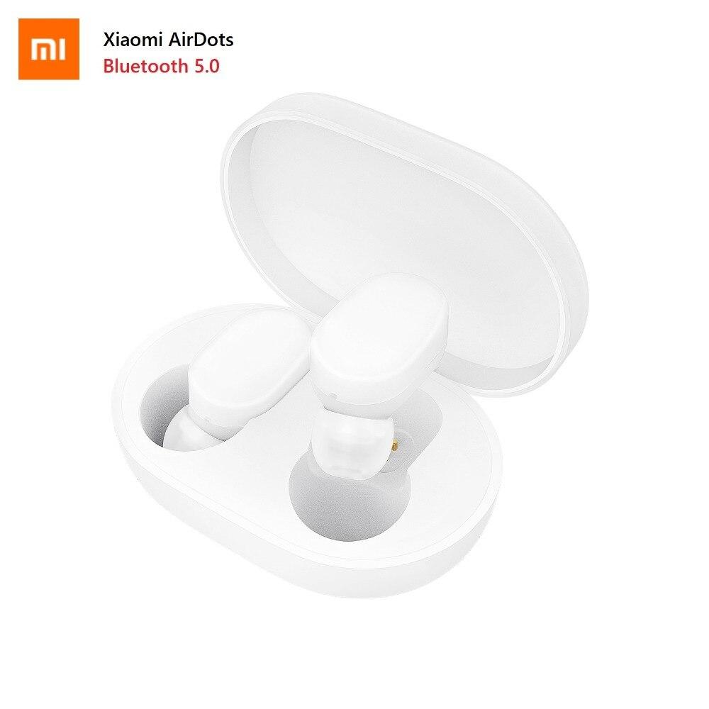 送料無料シャオ mi mi AirDots Bluetooth イヤホン若者のバージョン TWS ステレオワイヤレスヘッドセット低音ヘッドフォン mi c ハンズフリー  グループ上の 家電製品 からの Bluetooth イヤホン & ヘッドホン の中 1