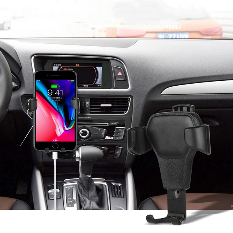 Suntaiho for iPhone X Car Phone Holder Universal Air Vent Mount Clip Cell Holder for xiami Samsung Phone Stand Holder Smartphone