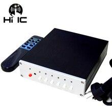 4 entrées 2 sorties/2 entrées 4 sorties sans perte commutateur de Signal Audio sélecteur de boîte son HiFi répartiteur de Signal Audio avec RCA