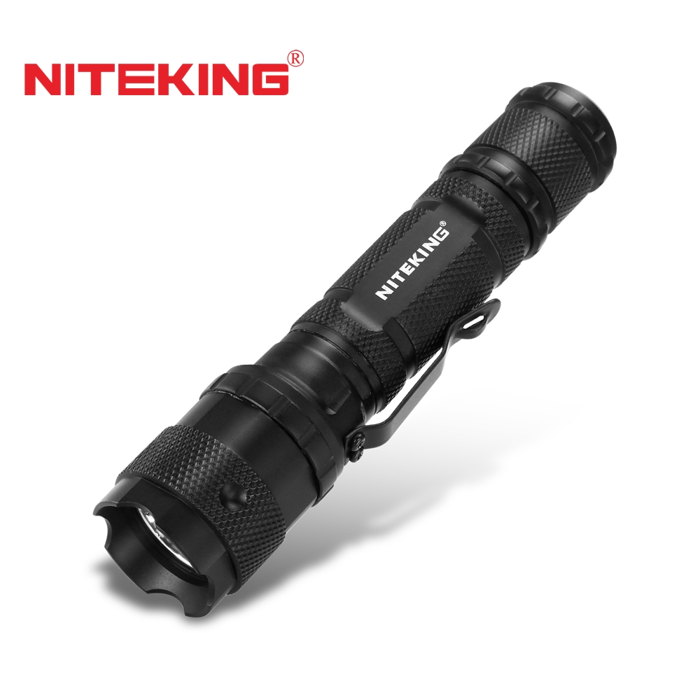 NITEKING N20 LED Tactical Flashlight Torch cree led Torch Lamp Lanterna lampe torche for 1x18650 or 2x16340 or 2xCR123 battery