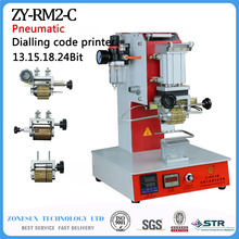 Portable Pneumatic Dial Hot Stamping LOGO Coding Machine
