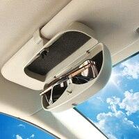 Fit Für Honda HR-V VEZEL HRV 2013-2016 Gläser Box Fall auto Sonnenbrillenhalter Clip Zubehör Sonnenblende Aufbewahrungstasche 2014 2015