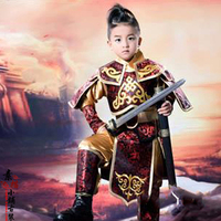 The Great General Little Boy Warrior Soldier Armour Costume For Little Boy PrinceGeneral Photography Costume Traditional