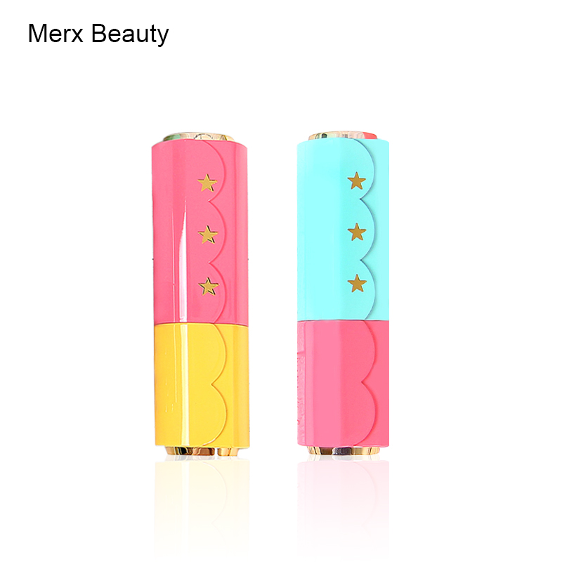 High Quality 12.1mm 3.5g Pink+Yellow Green+Pink Empty Plastic Lipsitck Tube Cosmetic Packing Container DIY Make UP ToolsHigh Quality 12.1mm 3.5g Pink+Yellow Green+Pink Empty Plastic Lipsitck Tube Cosmetic Packing Container DIY Make UP Tools