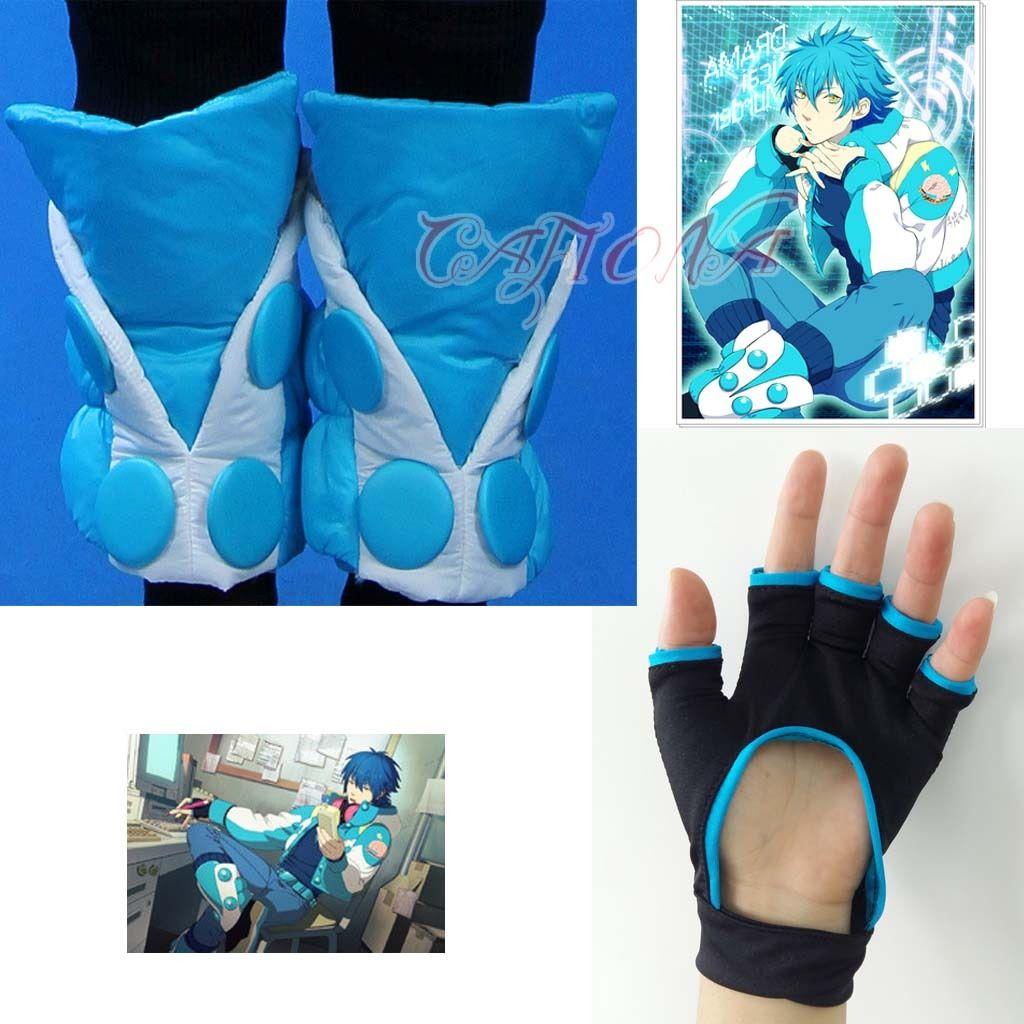 2019 Mode Cafiona Hot Dramatische Murder Seragaki Aoba Cosplay Kostuum Accessoires Handschoenen Been Covers Opruimingsprijs